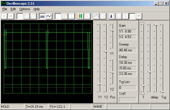 осциллограф из компьютера