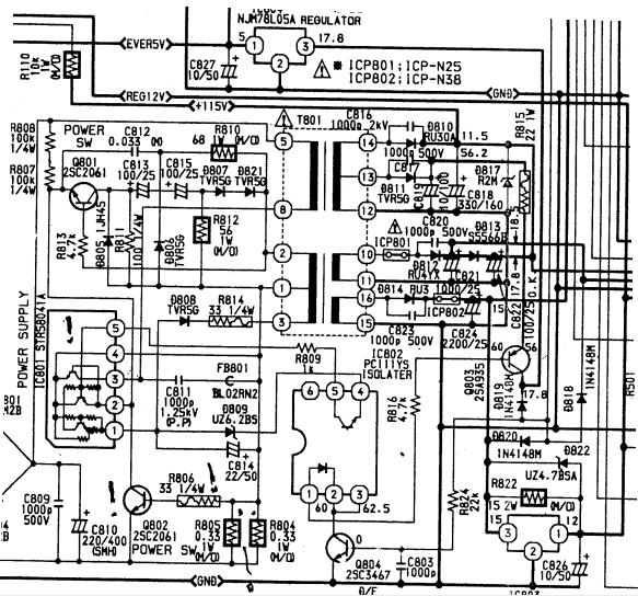 AIWA TV - C201 схема