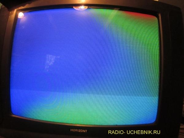 Поиск неисправности в телевизоре