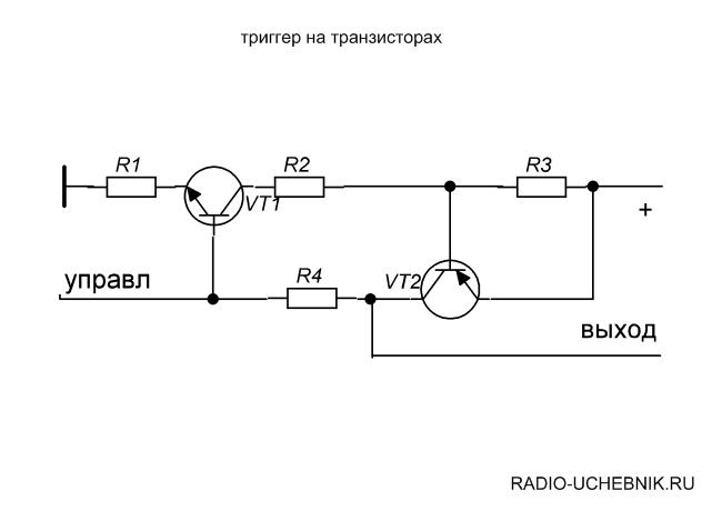 триггер на транзисторах