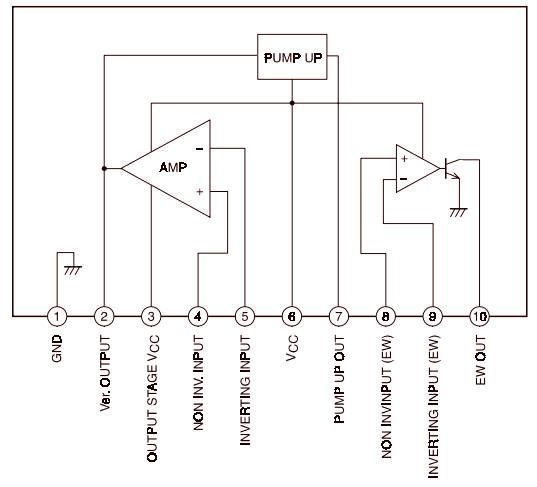 La7848 схема включения
