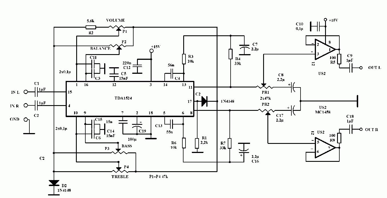 Регулируемый усилитель звука