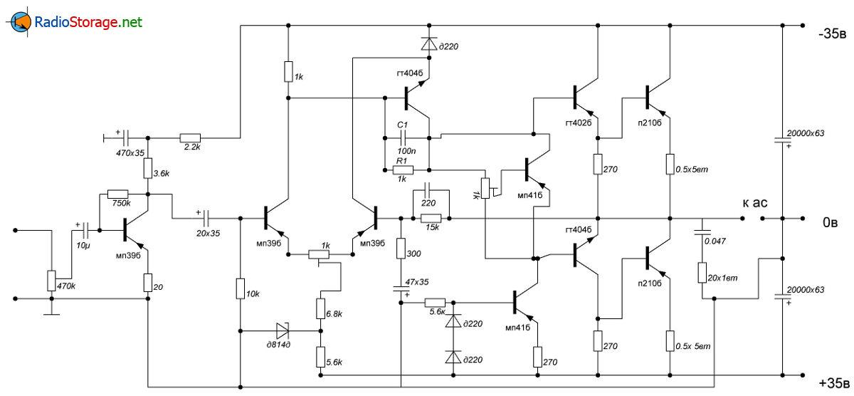 Высококачественный транзисторный усилитель своими руками 89