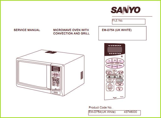 Инструкция микроволновой печи sanyo