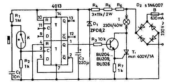 Сенсорный выключатель схема своими руками фото 191