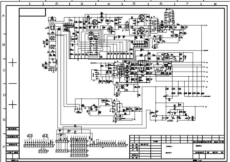 Блок питания lcd монитора схема фото 915