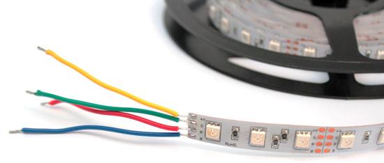 Подключение светодиодной ленты своими руками фото