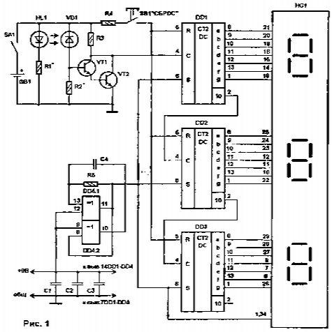 Оптоэлектронная пара, роль