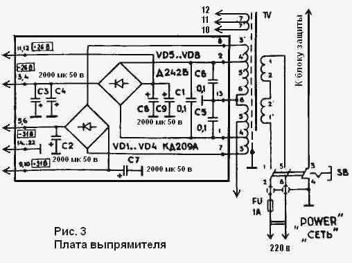 Схема усилителя радиотехника 101 стерео схема.