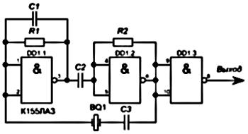 К155ла3 генератор прямоугольных импульсов - fa